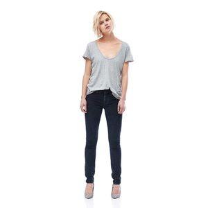 Hudson Nico Midrise Super Skinny Corduroy Jeans 27